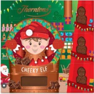 6件£15=每件仅£2.5Thorntons 巧克力官网 圣诞日历折扣热卖