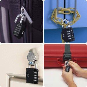 旋转密码锁$6.88Amazon锁具专场 密码锁便携锁海关锁 总有一款适合你