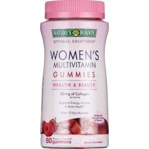 Nature's Bounty买1送1女士维生素软糖 树莓味, 80粒
