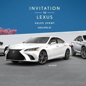 返现贷款租赁 全都有Lexus 豪华车优惠月 IS ES GS NX UX 全系降降降