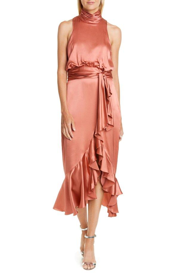 丝绸鱼尾裙