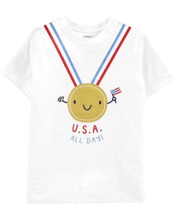 小童冠军T恤