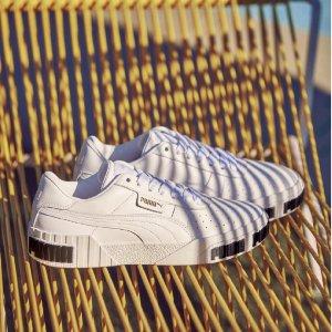 PumaCali 厚底小白鞋