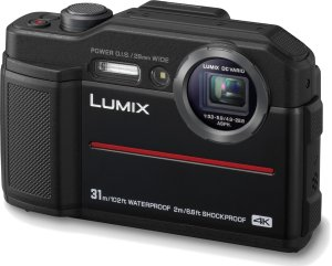 Panasonic LUMIX TS7 Waterproof Tough 20.4 MP 4.6x Zoom Digital Camera