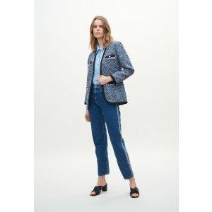 Claudie Pierlot蓝色针织外套