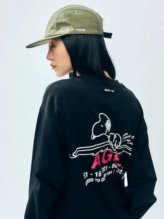 X Snoopy T恤