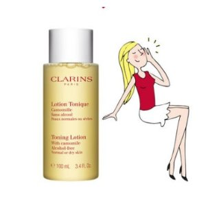 ClarinsToning Lotion with Camomile