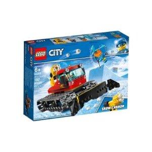 Lego铲雪车