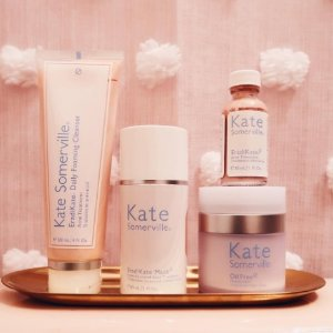 Receive travel size ExfoliKate Trio ($63 value)With Any $65 Purchase @ Kate Somerville
