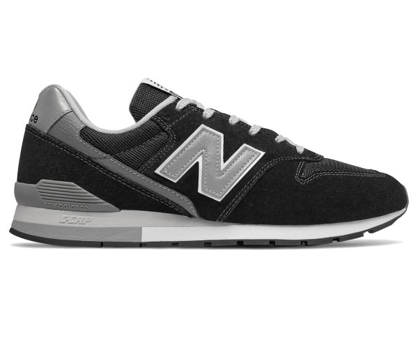 Men's 996 运动鞋 - Black/Silver/Grey