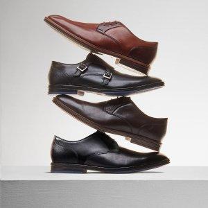 全场7.5折 £41收牛津鞋Clarks 中秋闪促 收经典舒适牛津鞋、小皮鞋