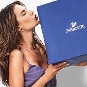 赠价值$80水晶耳钉+精美礼品包装Swarovski 加拿大官网 母亲节满额送好礼
