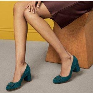 低至2.7折+额外5折 多款再降价Naturalizer 女生挚爱高跟鞋 $20收中跟皮鞋 尖头款$40