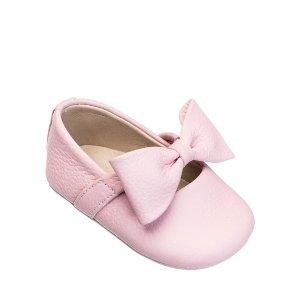 Elephantito婴儿蝴蝶结皮鞋