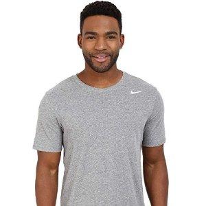 $12.5起+包邮Nike Dri-FIT男子休闲运动快干短Tee促销 多色可选