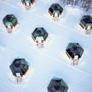 $1899 12月-3月日期6天芬兰极光之旅 含机票/酒店/导游 入住冰雪玻璃屋