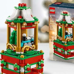 Free Holiday Carousel + 2X VIP PointsWith $99+ Purchase @ LEGO Brand Retail