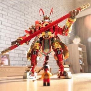 €29.99起 唤你做英雄新品上市:LEGO官网 悟空小侠 新系列,齐天大圣驾到