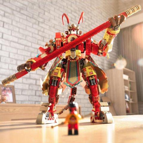 £24.99起 满£25赠神秘礼包新品上市:LEGO官网 悟空小侠新系列发售 齐天大圣驾到