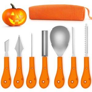 Greatever Halloween Pumpkin Carving Kit