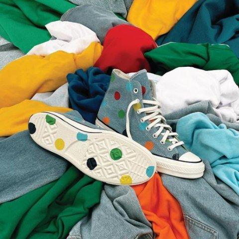 5折起 帆布鞋£19.99入汇总:Converse 帆布鞋颜色合集 新年红、流行黄、牛油果绿、香芋紫