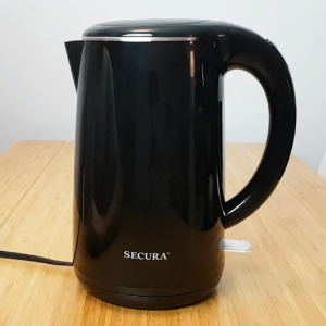 $19.39Secura 不锈钢无线电热水壶 1.8夸脱