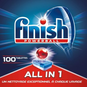 5.2折 100块仅售€11.95Finish 全球销量No1洗碗机洗涤块 每块独立包装有效抑菌99%细菌