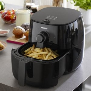 $99Philips HD9621/96 Viva Turbo star, Air fryer Black