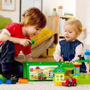 $27.97 (原价$34.99)圣诞送什么:LEGO Duplo 10572 多合1 趣味桶  开启创造力