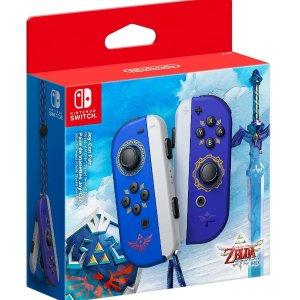 现货$119 抓紧抢手慢无:Nintendo Joy-Con 塞尔达传说 天空之剑 主题手柄