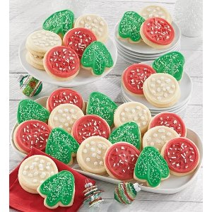 Bow Gift Box – Holiday Cut-outs | Cheryl's Cookies