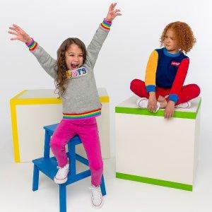 6折Levi's Crayola 系列儿童服饰特卖 彩色才是宝宝的世界