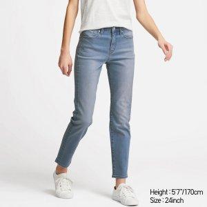Uniqlo新款高弹力牛仔裤