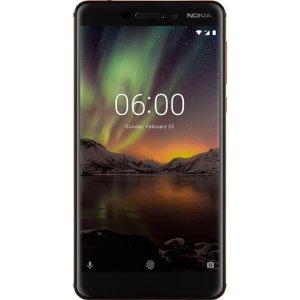 $164.98 (原价$264.98)Nokia 6 (2018) 32GB 解锁版 + Cricket SIM + $25 Cricket 充值卡