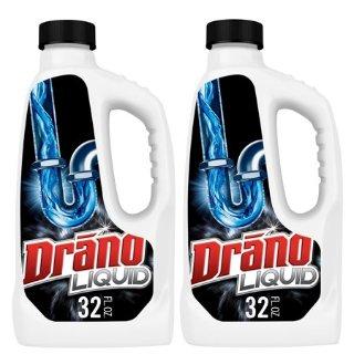 $5.69Drano 强力通下水道疏通剂 32盎司 2瓶
