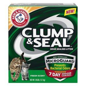 Arm & HammerClump & Seal MicroGuard Fresh Scent Cat Litter