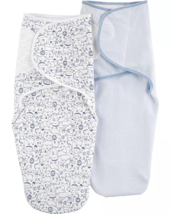 婴儿考拉包裹式睡袋2件