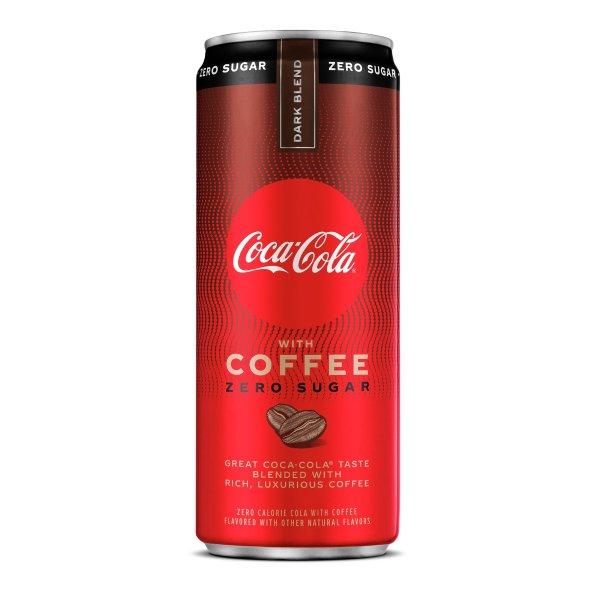 可乐咖啡 深度烘焙0糖口味 12 fl oz
