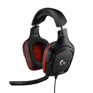 Logitech4.7折!107db!G332 有线耳机(黑色)