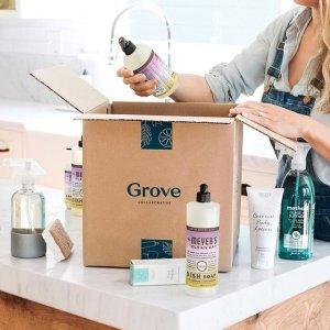 送价值$42.52梅耶太太清洁套装 包邮Grove Collaborative 日用杂货订购服务新用户福利