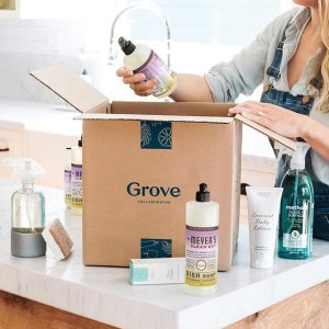 Free Mrs Meyer's Gift Set + Free Facial Cleanser + 60-day VIP TrialGrove Collaborative Household Essentials on Sale
