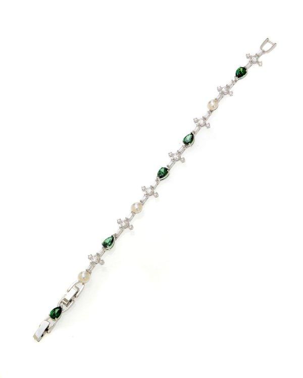 水晶珍珠手链