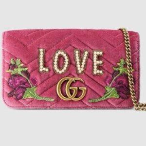 低至£445 情人节送礼佳选上新:Gucci 情人节限量小包、钱包热卖中