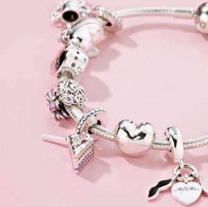 低至5折 串出你的专属手链Pandora 精选精美串珠、首饰限时热卖