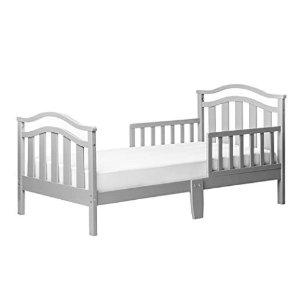 $58.84 刷新史低价史低价:Dream On Me 儿童床,带护栏保护