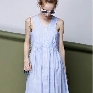 额外5折 $59入手封面款连衣裙FEW MODA官网 特价区超多美衣折上折促销