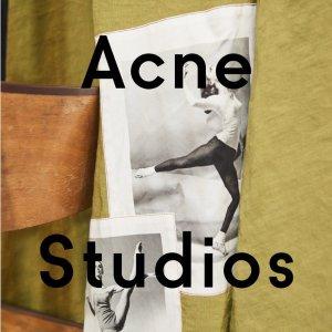 低至6折 19春夏系列Acne Studios官网年中大促 男女服饰热卖