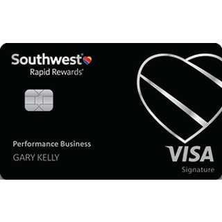 Earn 70,000 pointsSouthwest Rapid Rewards® Performance Business Credit Card