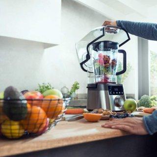 $400.3 新品上市Philips 2.4匹马力90oz食物破壁机 带静音罩