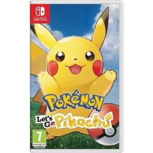 €24 (原价€44.99)《精灵宝可梦 Let's Go 皮卡丘》Switch 实体版